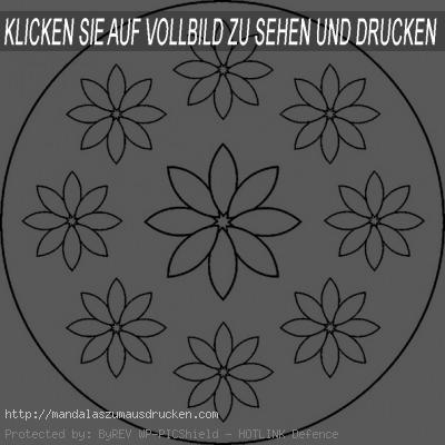 mandalas zum ausdrucken blumen (7)