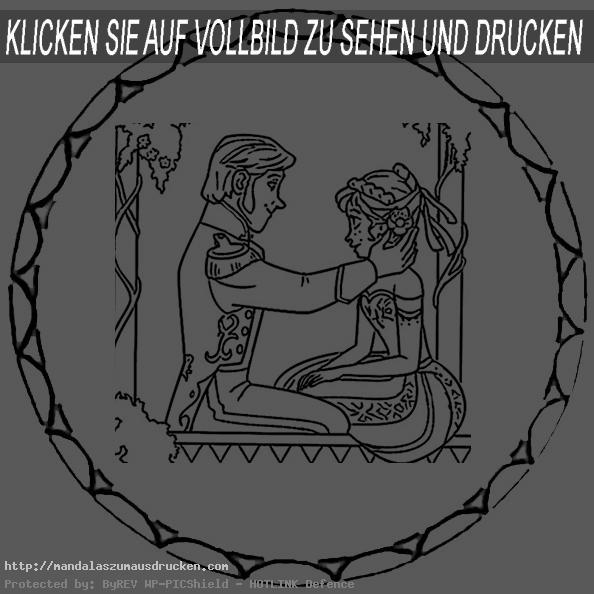 mandalas zum drucken eiskönigin (3)